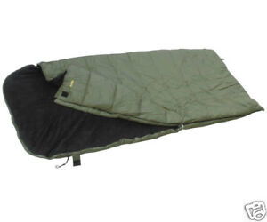 BIG SNOOZEY 5 SEASON FLEECE LINED SLEEPING BAG FOR CARP FISHING / CAMPING