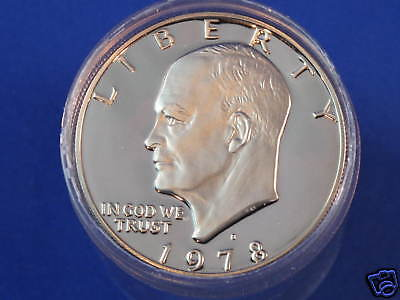 Click now to see the BUY IT NOW Price! 1978-S CLAD GEM PROOF EISENHOWER DOLLAR ROLL OF 20