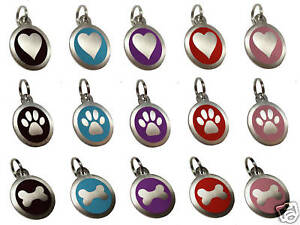 25mm-Pet-ID-Dog-Tag-Disc-Stainless-Steel-Engraved-Free