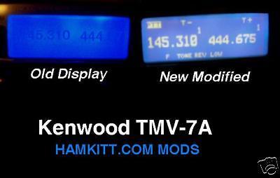 TM-V7A Kenwood Transceiver Light kit Modification Mod on Rummage