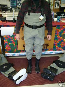 SNOWBEE-S11168FB-01-08-XS-Breathable-Cleated-Sole-Chest-Waders-Size-8-Stout