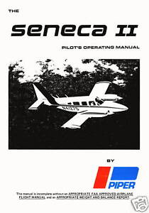 PIPER-PA-34-200T-SENECA-II-INFORMATION-MANUAL-1974