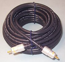 5M HIGH QUALITY SUBWOOFER CABLE / RCA PHONO LEAD