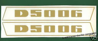 Aufkleber Deutz 5006 Haubenaufkleber Traktor Schlepper NEU