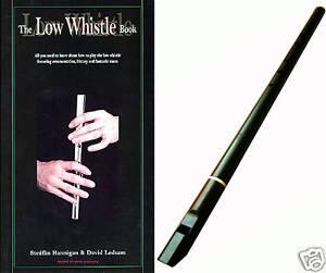 DIXON DX003 TAPERED BORE PRO LOW D WHISTLE + TUTOR BOOK & CD - IRISH PENNY TIN
