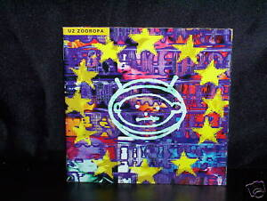 U2-ZOOROPA-AUSSIE-CD-NM