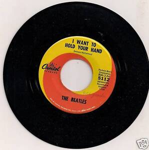 Beatles-I Want To Hold Your Hand 45RPM