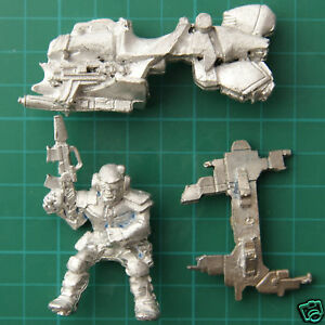 Imperial Army Rogue Trader Jet Cycles Bike Warhammer 40K 5902 2 12ft