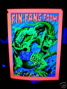 Marvel third eye tribute FIN FANG FOOM poster Jack Kirby!!!