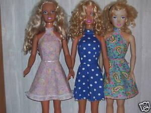 "... Pattern 9 Backless Summer Dress Fits 36"" My Size Barbie Doll | eBay"