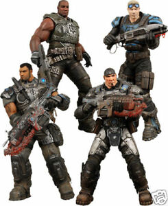 ★ GEARS OF WAR - Delta Squad Boxed 7