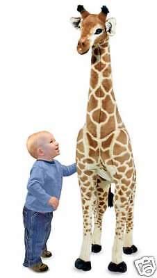 Melissa and & Doug - Giraffe - Large Giant Plush Animal Stuffed New Item # 2106