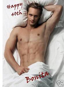 Personalised TRUE BLOOD Eric Northman Birthday Card HOT