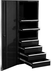 tools 24 side cabinet tool box blue matco ebay