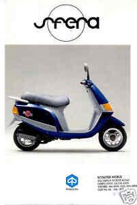 VESPA-Brochure-Sfera-1993-1998-Piaggio-Scooter-Catalog