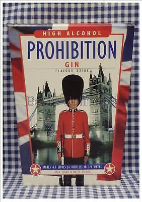 Prohibition Gin 6 Bottle Homebrew Spirit Making Kit