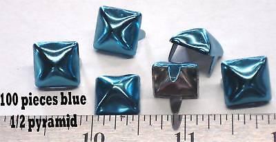 Инструменты для кожи Studs Blue Pyramid