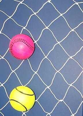100' X 6' 1/2 Baseball Softball Hockey Nylon Netting 1 3/4 Net 15 160lb Test