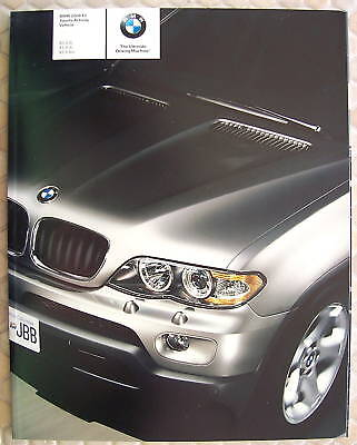 BMW OFFICIAL X5 3.0i 4.4i 4.8is PRESTIGE SALES BROCHURE 2006 USA EDITION