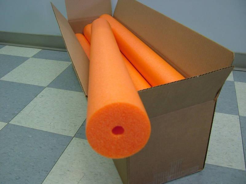 Orange Catfish / Swimming Noodle Foam - 8 Pieces - Jug & Trot Line / Lines