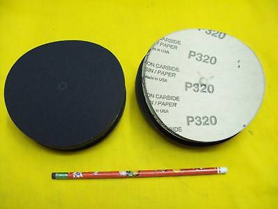 100 - 5 Sanding Discs Sander Floor Wood Auto Body Shop Abrasive
