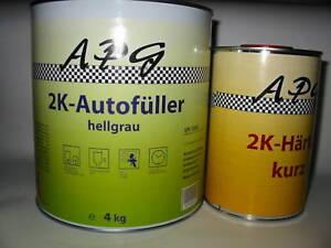 4x4 KG 2K Autofüller grau plus 4x1ltr Härter) - Deutschland, Deutschland - 4x4 KG 2K Autofüller grau plus 4x1ltr Härter) - Deutschland, Deutschland