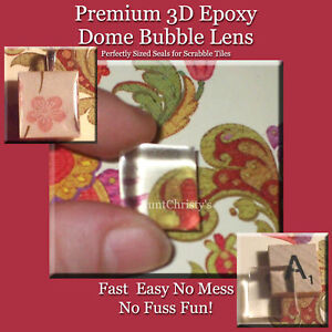 100-Premium-Scrabble-Tile-3D-Epoxy-Dome-Lens-Seals-DIY