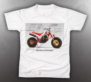 vintage yamaha bw200 shirt like nos