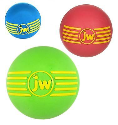 Medium Isqueak Ball - Jw Pet Rubber Bouncy Squeaky Squeaker Dog Toy