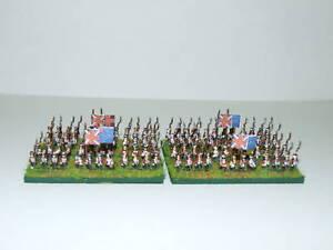 6mm Napoleonic British Infantry in Belgic Shako
