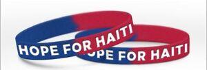 Haitian-Relief-wrist-band-bracelet-Hope-For-Haiti-BOGO