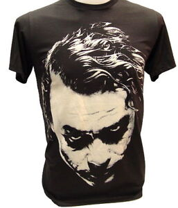 Nwt-JOKER-Heath-Ledger-Retro-T-Shirt-Vintage-BATMAN-XL