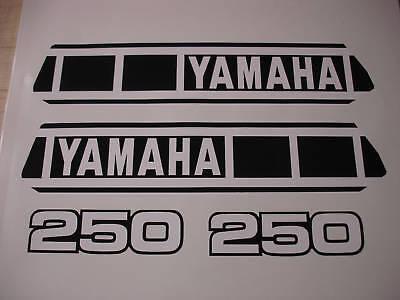 1980 Yamaha Yz250 Gas Tank And Side Panel Decals Ahrma