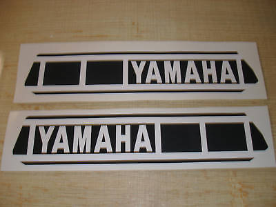 1980 Yamaha Yz 250/465 Gas Tank Decal Set. Ahrma