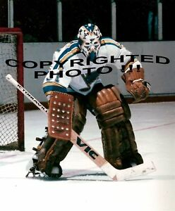 AWESOME-Rick-HEINZ-St-Louis-BLUES-Kick-SAVE-8X10-NEW