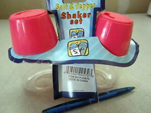 New-Lot-of-16-sets-Plastic-Salt-Pepper-Shakers-flow-con