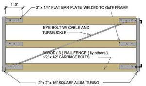 Gate-Crafters-3-Rail-Single-driveway-Gate-Frame-Kit