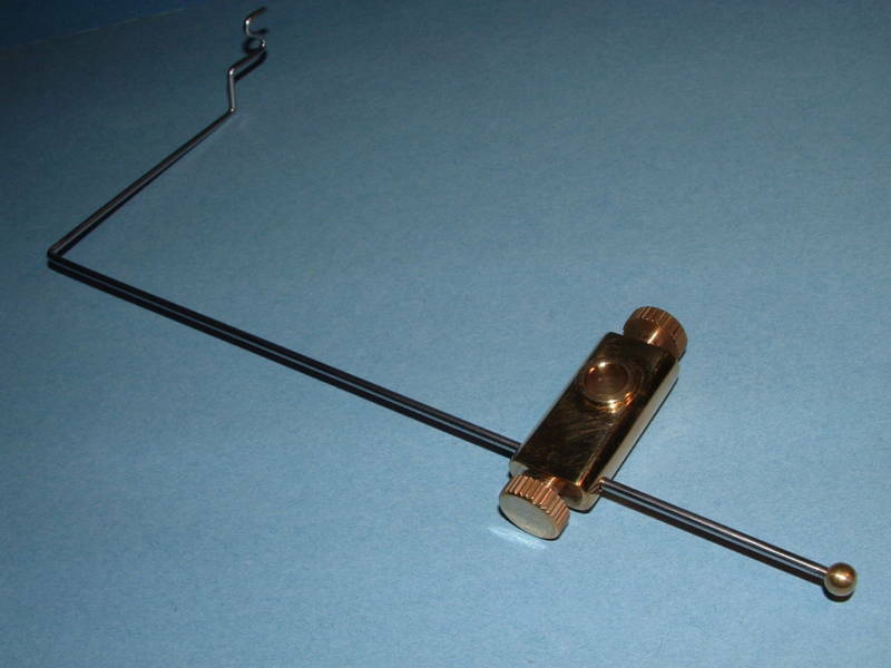 Bobbin Cradle Rest Fits Any 3/8 Fly Tying Vise Anvil Griffin Hmh 1300-bc, Terra
