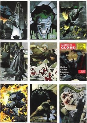 1996 Batman Master Series Full Base SET 90-Cards!