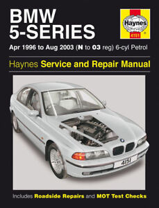 bmw 5 series 520 528 530 e39 96 03 haynes manual 4151 ebay. Black Bedroom Furniture Sets. Home Design Ideas
