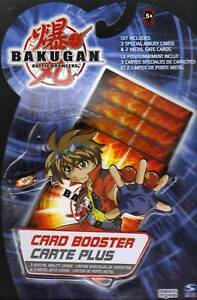 Bakugan Battle Brawlers Booster Pack TCG (3 Special ability 2 Metal Gate) Cards