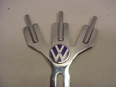 Volkswagen Chrome Parade 3 Flag Holder Free Flags