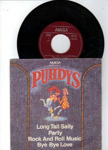 Puhdys- Long tall Sally  / Party /  Rock and Roll Musik