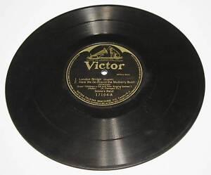 Old Victor Victrola Record 78RPM LONDON BRIDGES