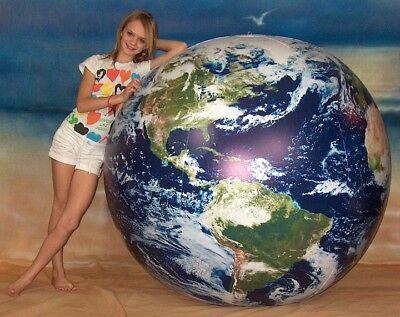 "72"" Inflatable ASTRONAUT VIEW Earth Globe - Beach Ball"