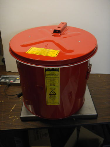 Justrite 27723 3.5 Gallon, Parts Washer, Wash Tank, New in box