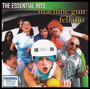 MACHINE GUN FELLATIO - ESSENTIAL HITS CD ~ 90's AUSTRALIAN ROCK ~ MGF *NEW*