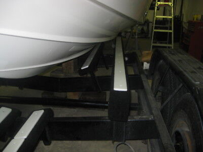 "8-48/"" x 3/"" NEW BOAT TRAILER BUNK SLIDES Plastic Poly Glide Pontoon Fish Lift"
