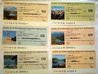 Serie Completa Miniassegni Baselga Di Pine' Vedute Sx -  - ebay.it