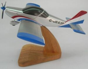 Aerotechnik-EV-97-Eurostar-Airplane-Wood-Model-Large